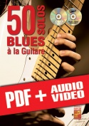 50 solos blues à la guitare (pdf + mp3 + vidéos)
