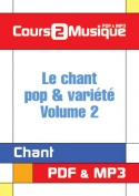 Le chant pop & variété - Volume 2