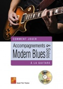 Accompagnements & solos modern blues à la guitare