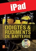 Doigtés & rudiments de batterie (iPad)
