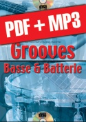 Grooves basse & batterie (pdf + mp3)