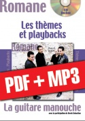 La guitare manouche - Thèmes & Playbacks (pdf + mp3)