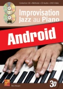 Improvisation jazz au piano en 3D (Android)