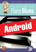 Initiation au piano blues en 3D (Android)