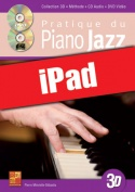 Pratique du piano jazz en 3D (iPad)