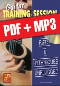Guitar Training Session - Riffs & rythmiques unplugged (pdf + mp3)
