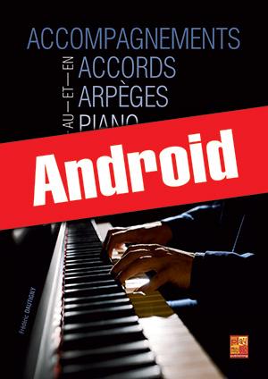 Accompagnements en accords et arpèges au piano (Android)