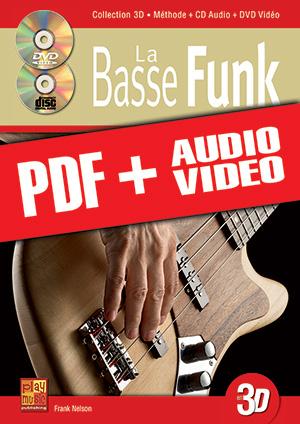La basse funk en 3D (pdf + mp3 + vidéos)