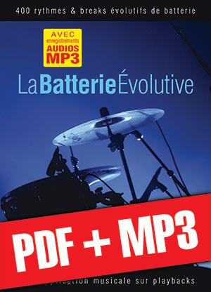La batterie évolutive (pdf + mp3)