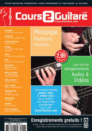 Cours 2 Guitare n°27
