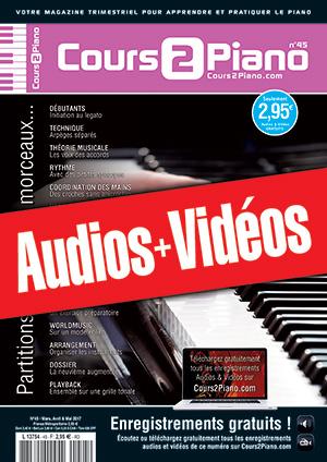 Enregistrements du Cours 2 Piano n°45
