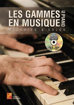 Les gammes en musique au piano