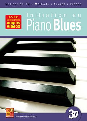 Initiation au piano blues en 3D