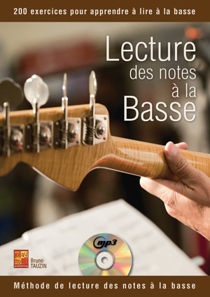 lecture des notes la basse bruno tauzin cours de basse. Black Bedroom Furniture Sets. Home Design Ideas