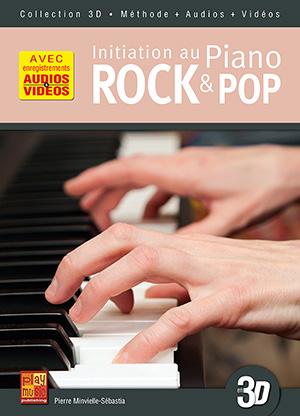 Initiation au piano rock & pop en 3D