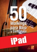 50 walkings para bajo y contrabajo (iPad)