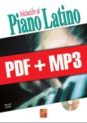 Iniciación al piano latino (pdf + mp3)