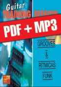 Guitar Training Session - Grooves & rítmicas funk (pdf + mp3)
