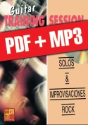 Guitar Training Session - Solos & improvisaciones rock (pdf + mp3)