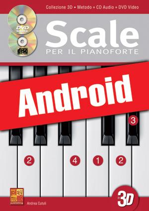 Scale per il pianoforte in 3D (Android)