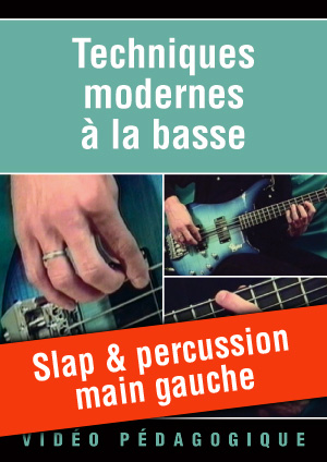 Slap & percussion main gauche