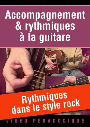 Rythmiques dans le style rock