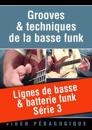 Lignes de basse & batterie funk - Série 3