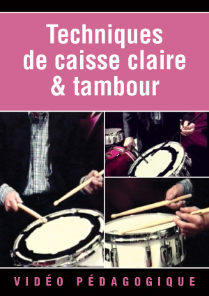Techniques de caisse claire & tambour