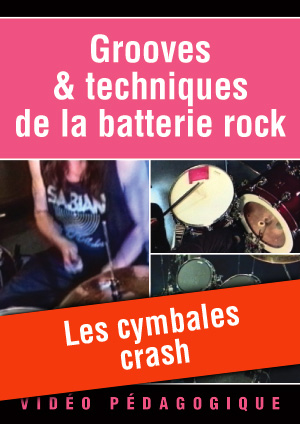 Les cymbales crash