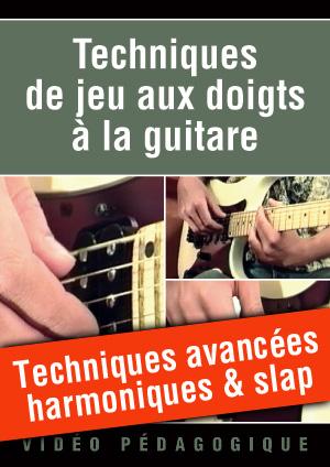 Techniques avancées : harmoniques & slap