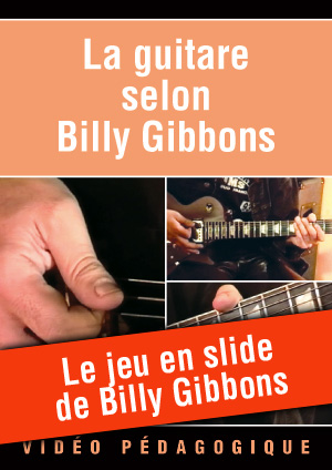 Le jeu en slide de Billy Gibbons