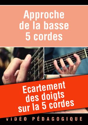 Ecartement des doigts sur la 5 cordes