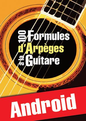 100 formules d'arpèges à la guitare (Android)
