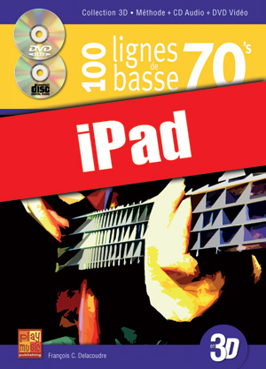 100 lignes de basse 70's en 3D (iPad)