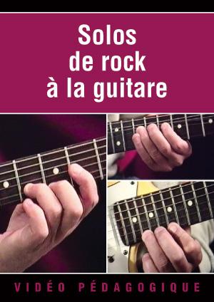 Solos de rock à la guitare