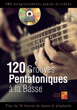 120 grooves pentatoniques à la basse