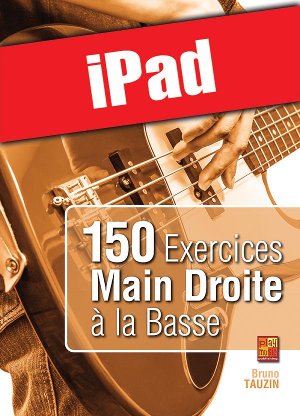 150 exercices main droite à la basse (iPad)