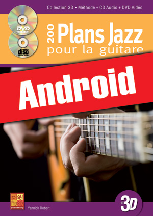 200 plans jazz pour la guitare en 3D (Android)