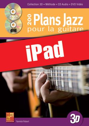 200 plans jazz pour la guitare en 3D (iPad)