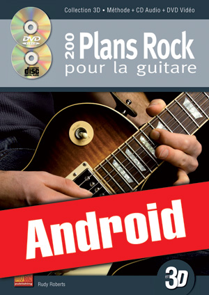 200 plans rock pour la guitare en 3D (Android)