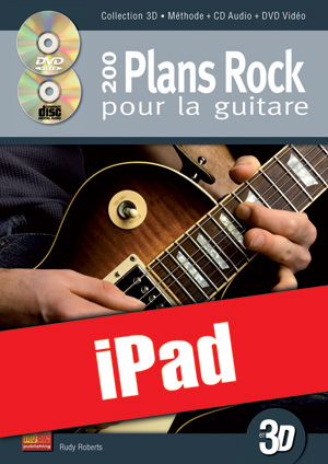 200 plans rock pour la guitare en 3D (iPad)