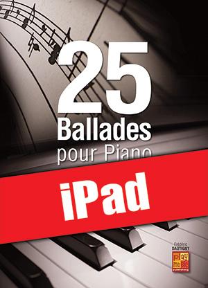 25 ballades pour piano (iPad)