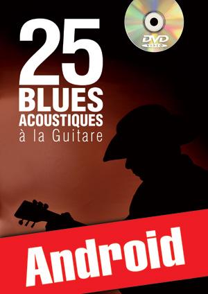 25 blues acoustiques à la guitare (Android)