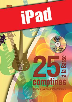 25 comptines à la basse (iPad)