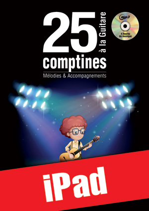 25 comptines à la guitare (iPad)