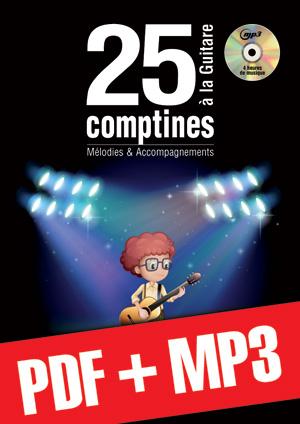 25 comptines à la guitare (pdf + mp3)