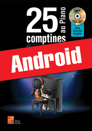 25 comptines au piano (Android)