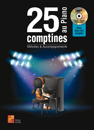25 comptines au piano