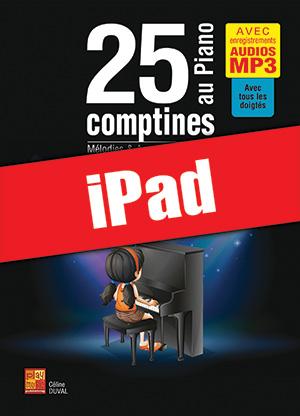 25 comptines au piano (iPad)