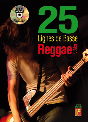 25 lignes de basse Reggae & Ska